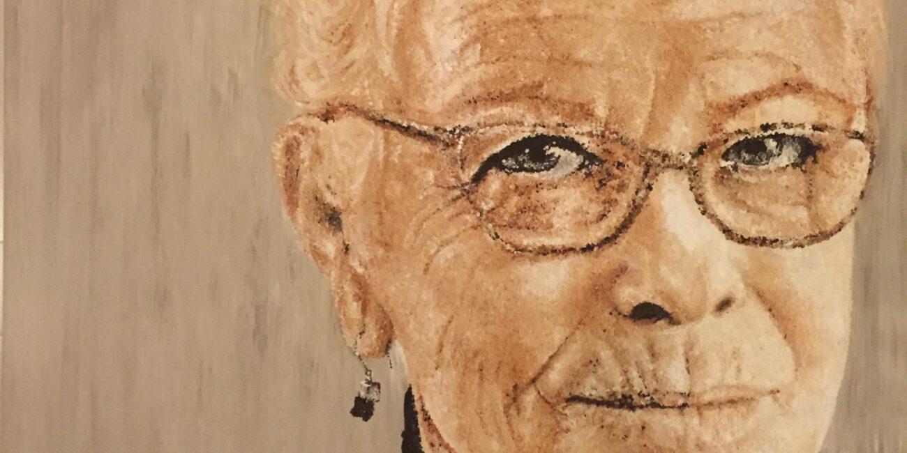 portrait of Julia Lester by Adelaide Artist Marieka Hambledon