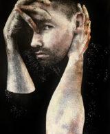 portrait of Jay Mullan by Adelaide Artist Marieka Hambledon