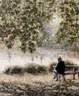 Mt Lofty painted by Adelaide Artist Marieka Hambledon